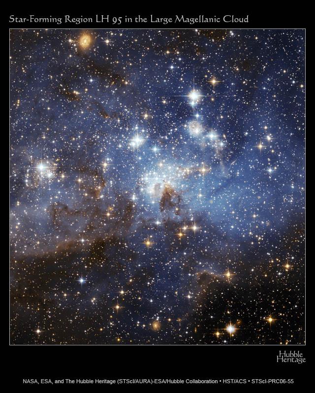 Region gwiazdotwórczy LH 95