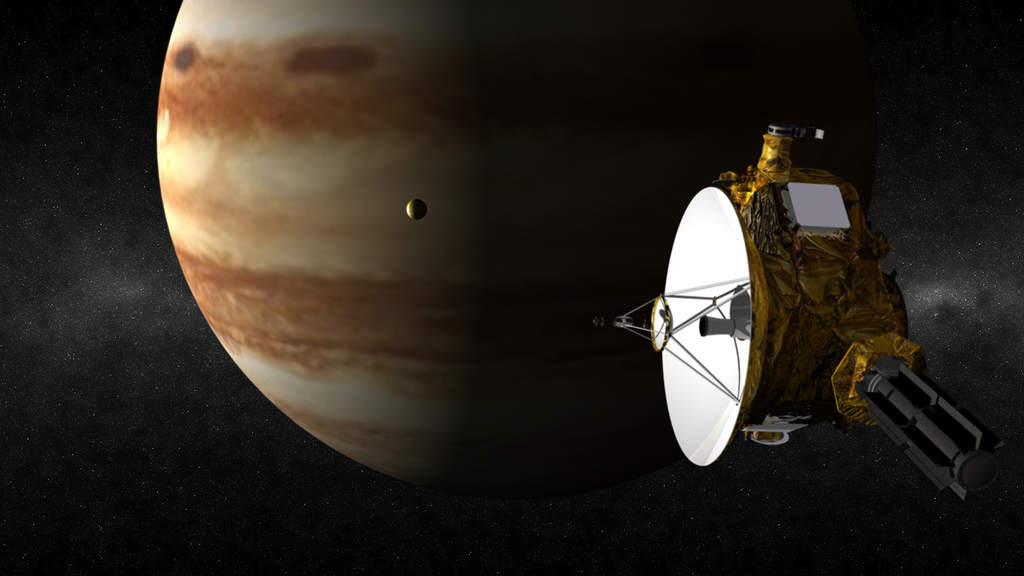 New Horizons i Jowisz