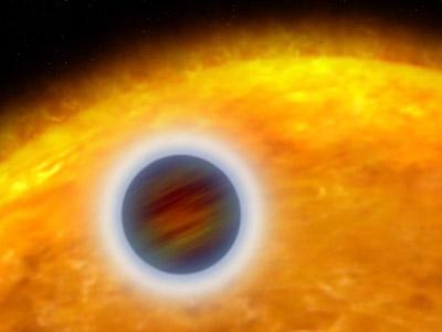 """Planeta pozasłoneczna typu """"gorący Jowisz"""""""
