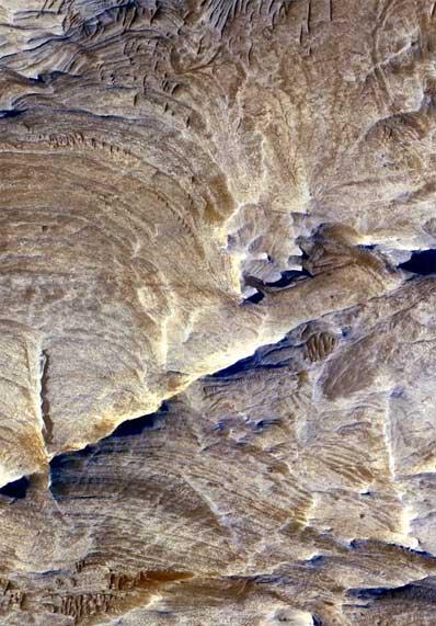 Formacje skalne na Marsie