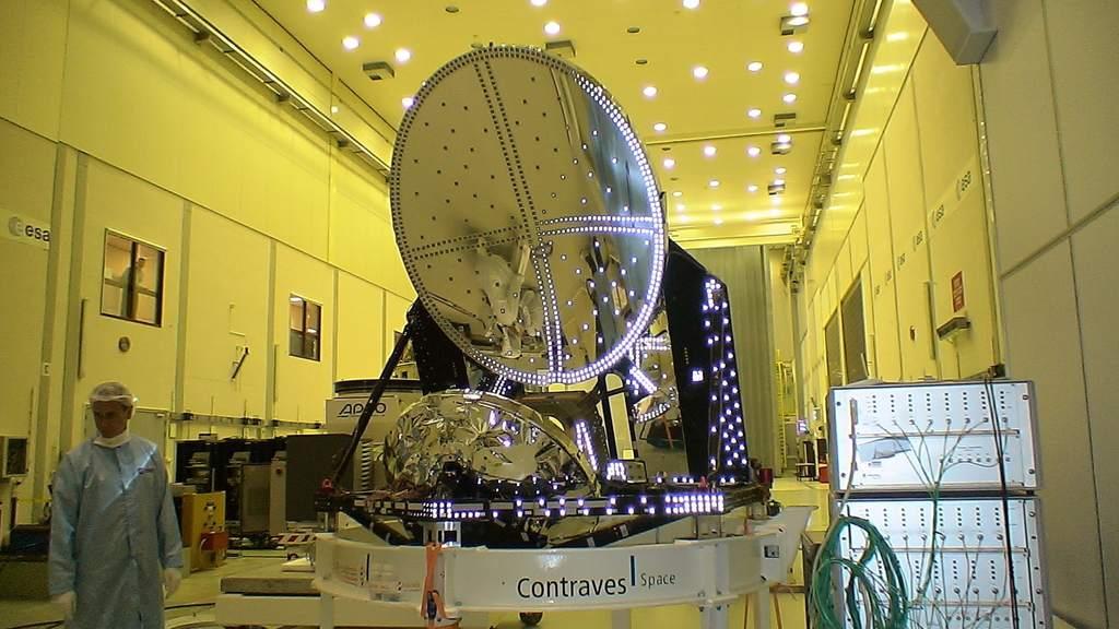 Model teleskopu sondy Planck