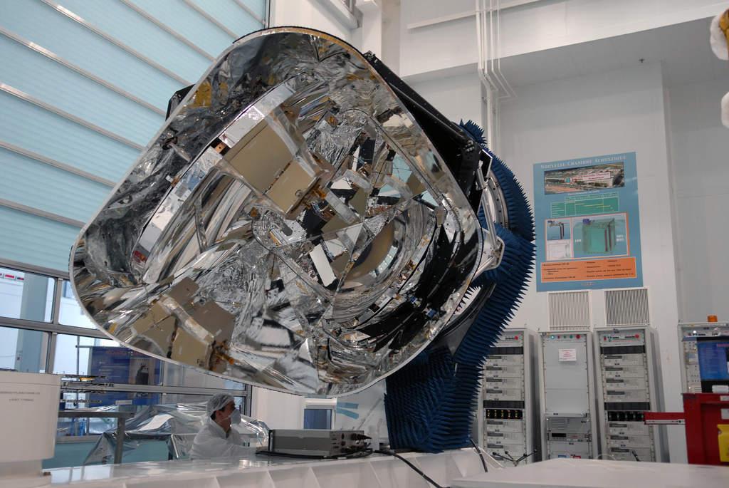Prototyp teleskopu sondy Planck - luty 2007 r.