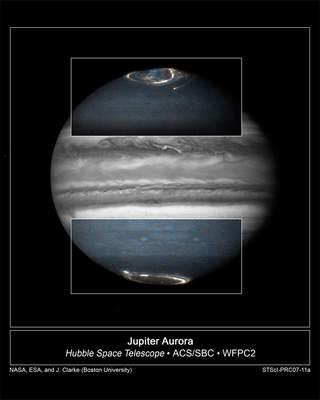 Zorze polarne naJowiszu, 17-20 lutego 2007