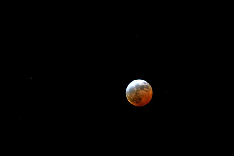 Zaćmienie Księżyca, 3 marca 2007 (1)