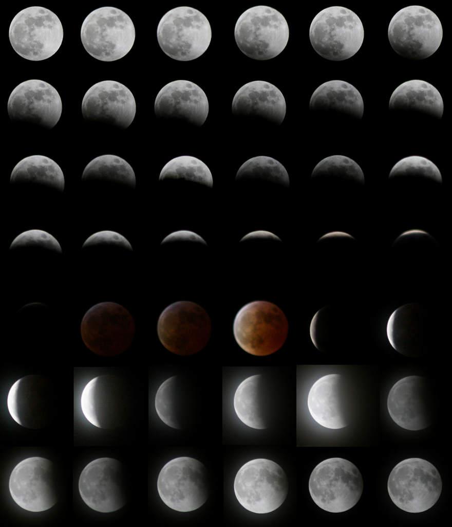 Zaćmienie Księżyca, 3 marca 2007 (2)