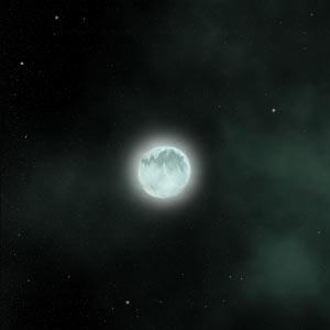 Ilustracja magnetara GRB060729