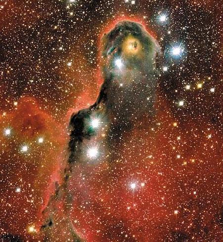 Mgławica Trąba Słonia, część IC 1396
