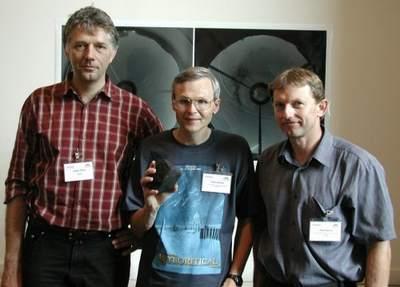 Juergen Oberst, Dieter Heinlein i Pavel Spurny