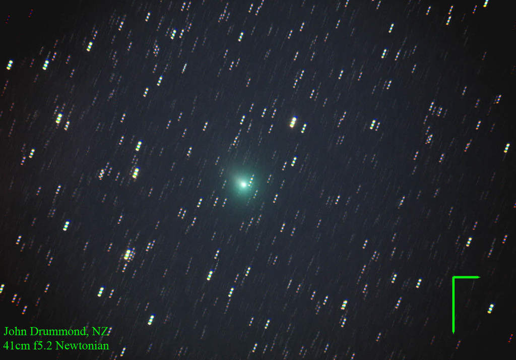 Kometa C/2007 E2 Lovejoy
