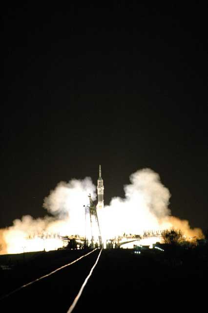 Start Rakiety Sojuz TMA-10