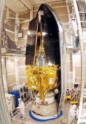 Gravity Probe B w kapsule