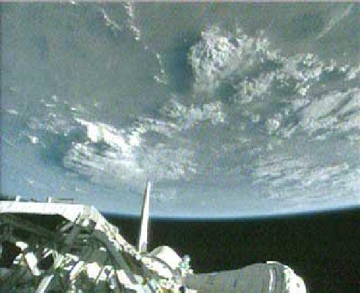 Ziemia widziana z Atlantis