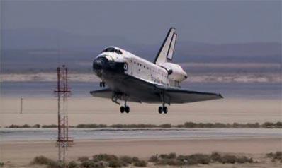 STS-117: Lądowanie