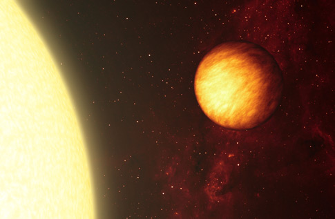 Artystyczna wizja gorącego Jowisza