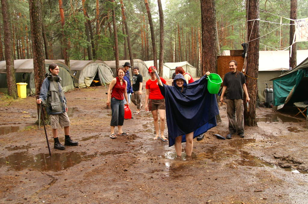 Powódź na obozie (2)