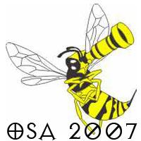 Logo Ogólnopolskich Spotkań Astronomicznych 2007