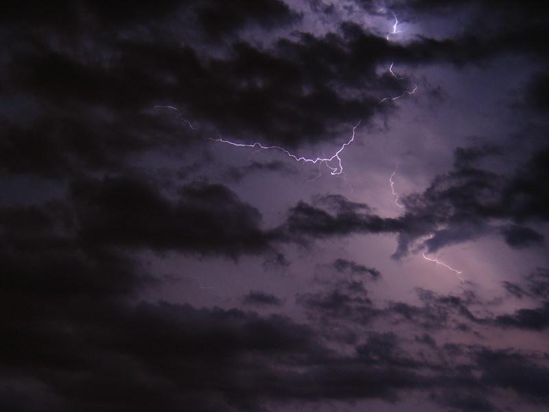 Burza nad Warszawą 21 sierpnia 2007 (I)
