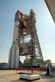 Rakieta Proton przed startem