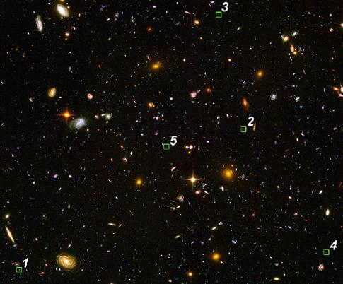 Odległe galaktyki
