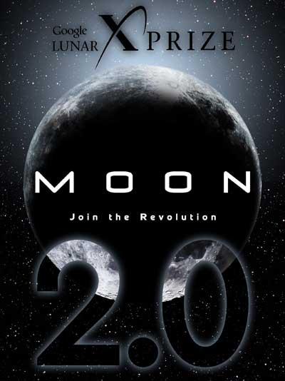 Logo Google Lunar X Prize