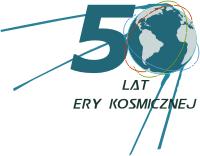 Logo koferencji z okazji pięćdziesieciolecia ery kosmicznej