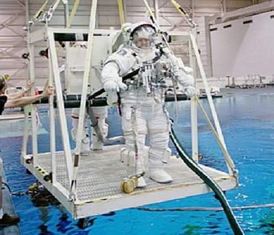 Test kombinezonu kosmicznego