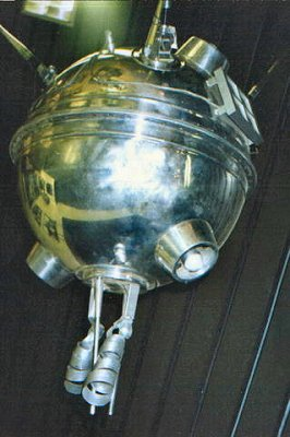 Tak wyglądała sonda Łuna 1