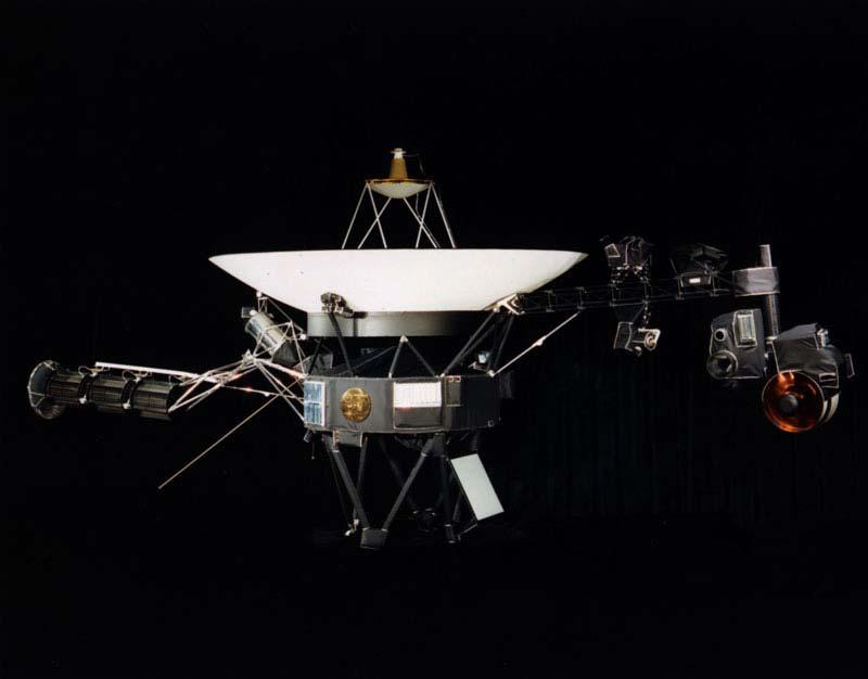 Voyager 1 - wygląd zewnętrzny