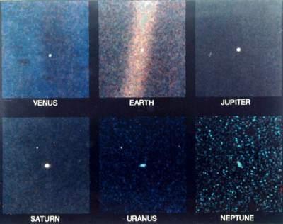 Voyager 1 - Portret Rodzinny zblizenie