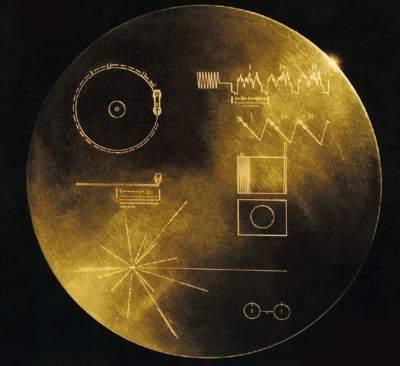 Voyager - płyta Golden Record