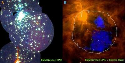 Obszar gorącego gazu M45