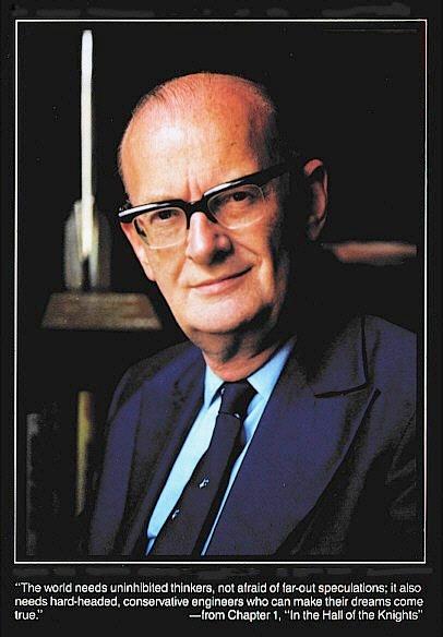 Arthur Clarke - stare zdjecie