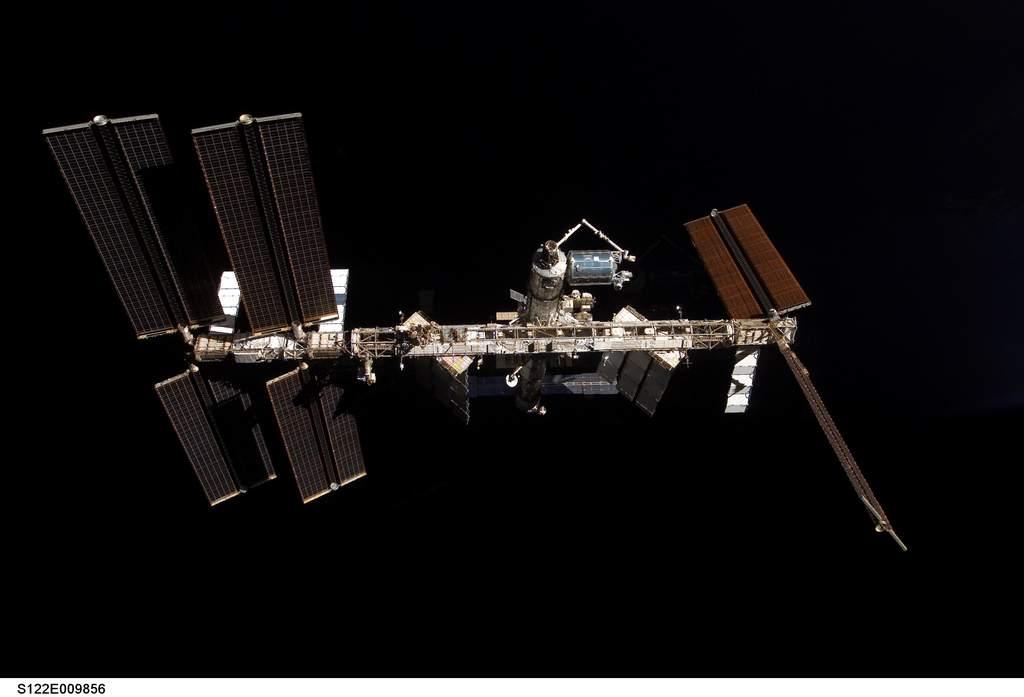 Międzynarodowa Stacja Kosmiczna zpoSTS-122
