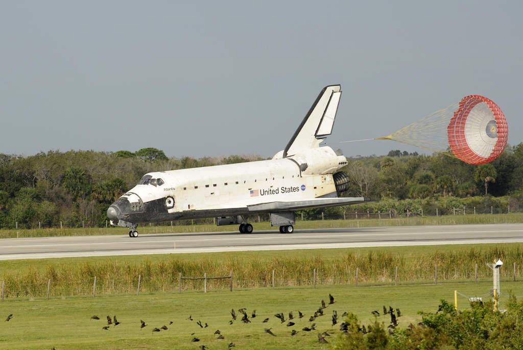 Atlantis wylądował - 20 lutego 2008