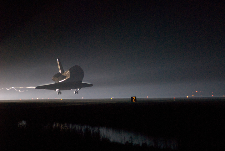 Zakończenie misji STS-123