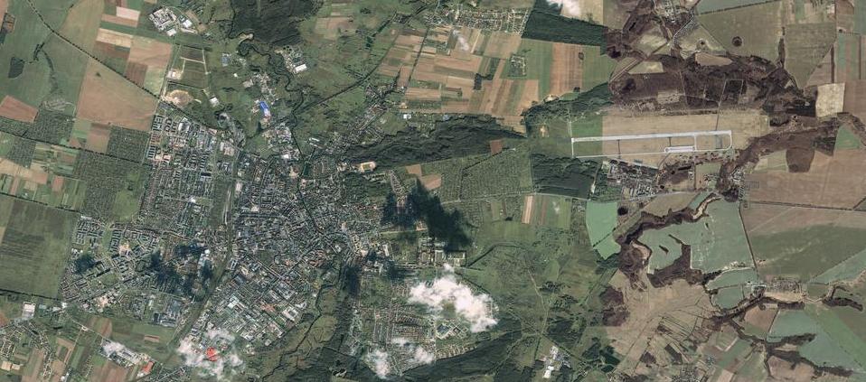 Redzikowo z satelity