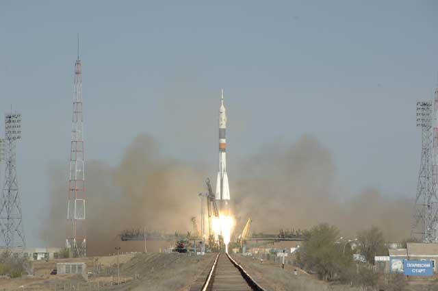 Start XVII Załogi Stacji Kosmicznej
