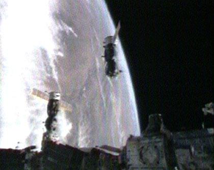 Odłączenie Sojuza TMA-11
