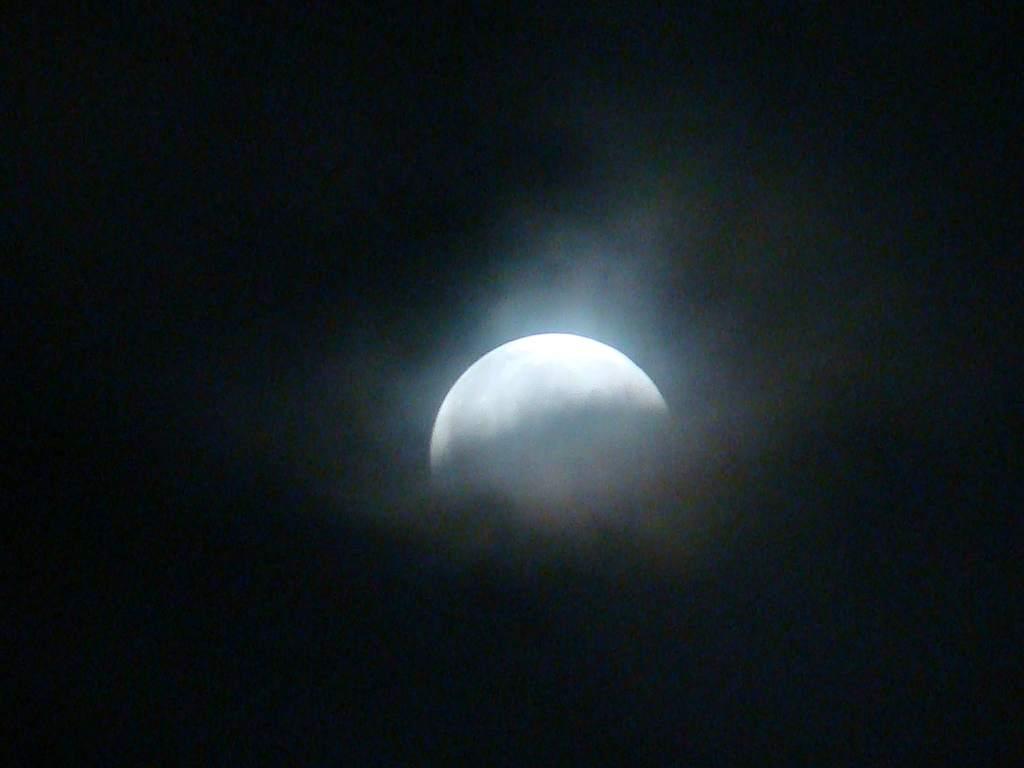 Zaćmienie Księżyca 16/17 sierpnia 2008 (I)