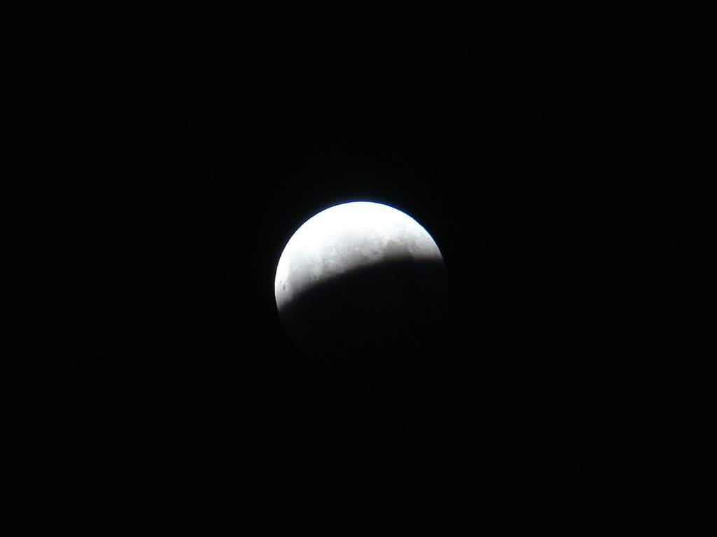 Zaćmienie Księżyca 16/17 sierpnia 2008 (II)
