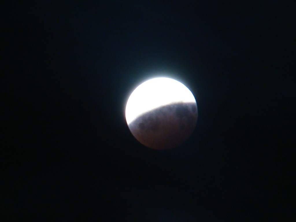 Zaćmienie Księżyca 16/17 sierpnia 2008 (III)