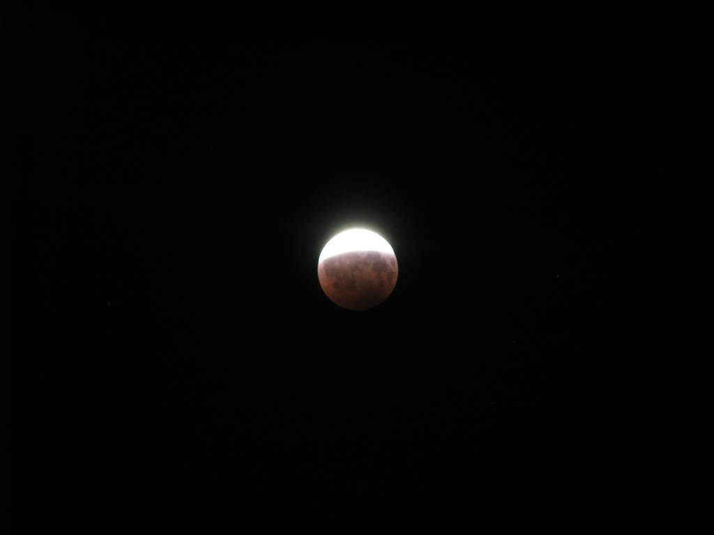 Zaćmienie Księżyca 16/17 sierpnia 2008 (IV)