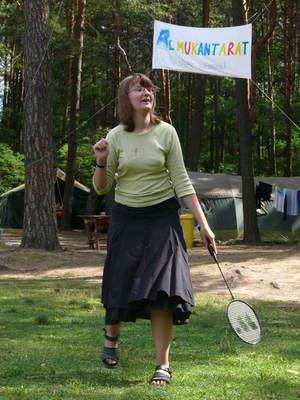 Badminton w Załęczu