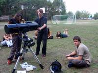 Zajęcia o teleskopach
