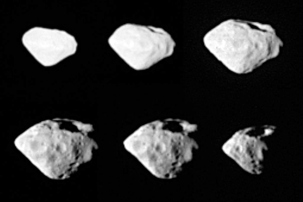 Planetoida Steins widziana przezsondę Rosetta