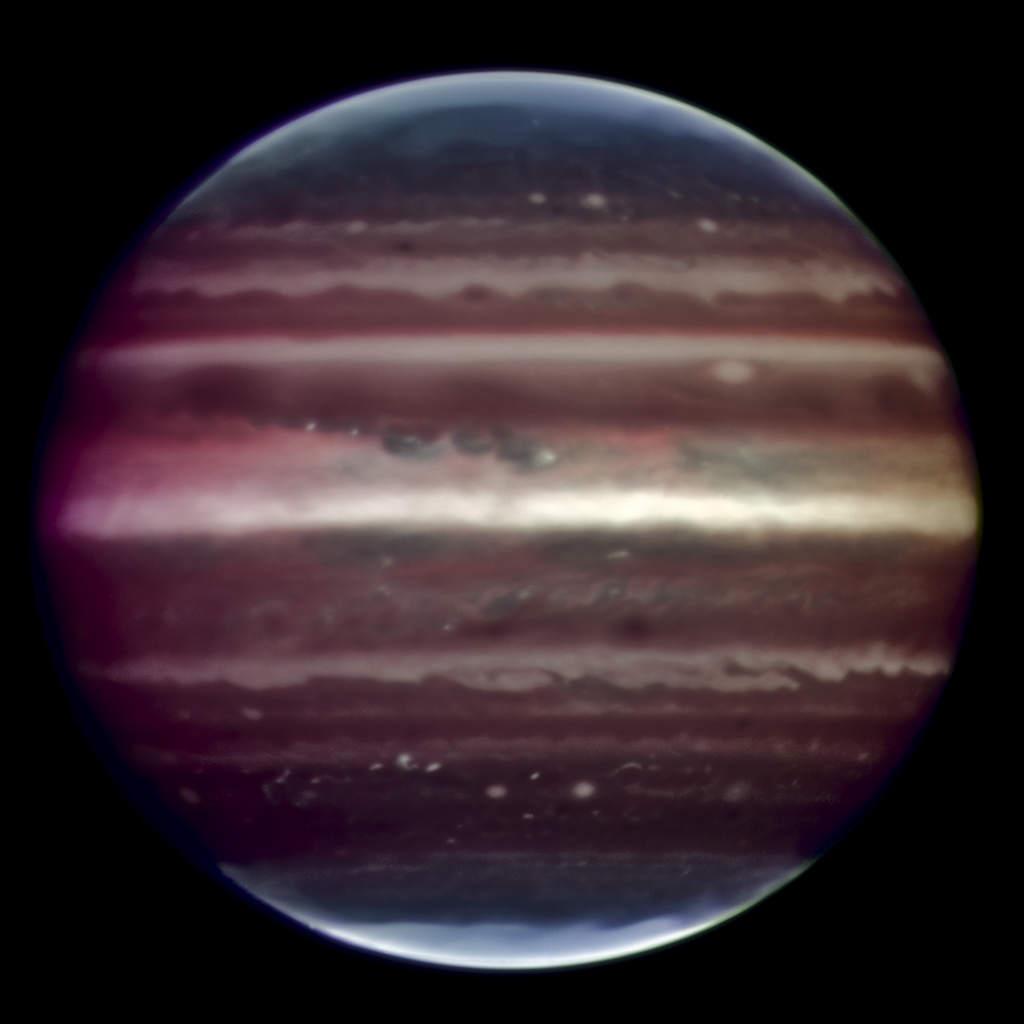 Najostrzejsze zdjęcie Jowisza