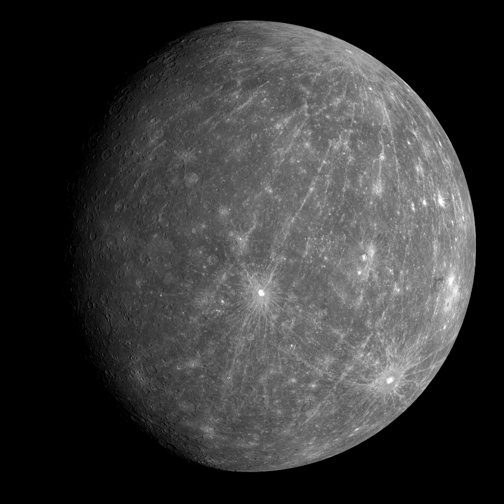 Merkury  - 6 października 2008