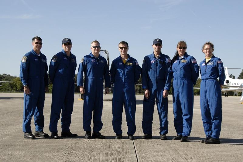 Załoga misji STS-126