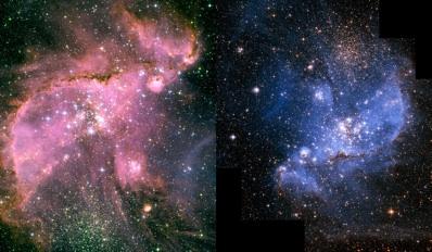 Mały i Wilki Obłok Magellana