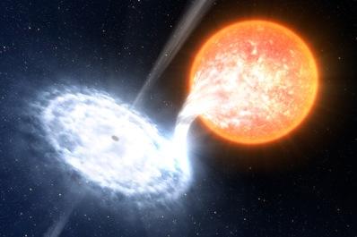 Układ czarna dziura - gwiazda